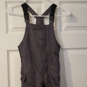 Excellent cond. grey boys ski overalls